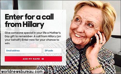 Call from Hillary