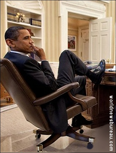 Barry in the Oval Office