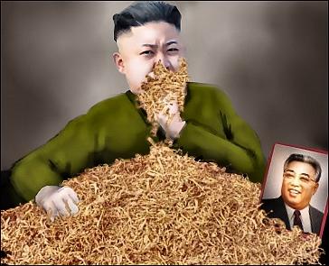 Kim Jong-Un makes serum