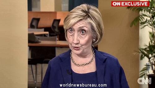 Hillary on CNN