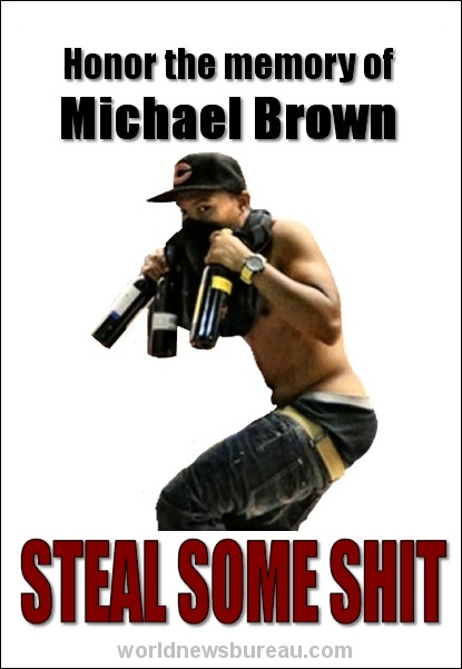 Michael Brown flier