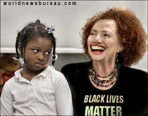 Hillary courts black vote