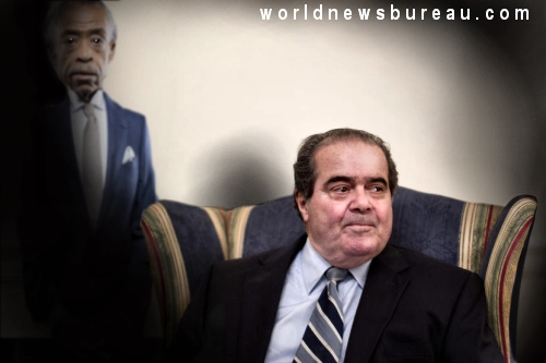 Last Photo of Antonin Scalia