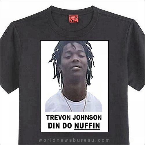 Trevon Johnson shirt