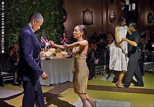 Obamas Tango