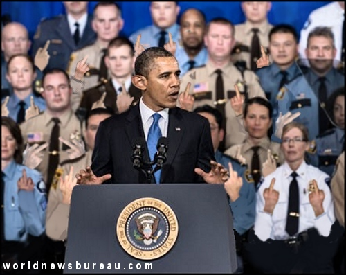 Obama and police