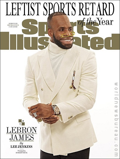 LeBron James TIme Magazine