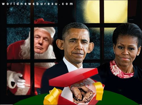 Christmas at the Obamas