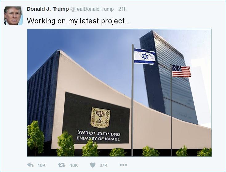 UN Building Israeli embassy