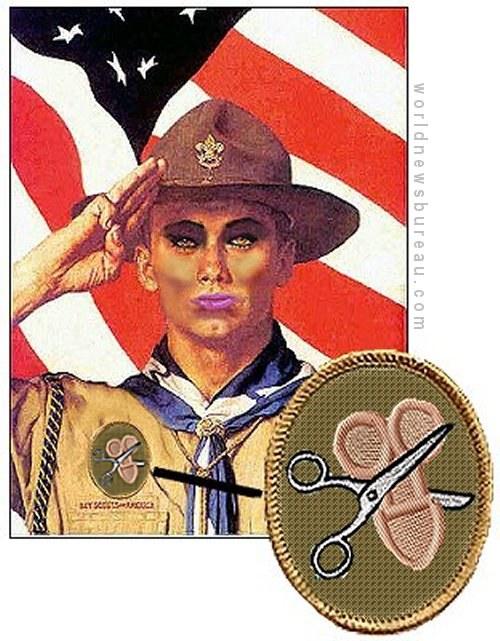Trannie Boy Scouts