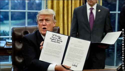Trump signs UC Berkeley executive order