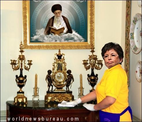 Valerie Jarrett at Obama Home
