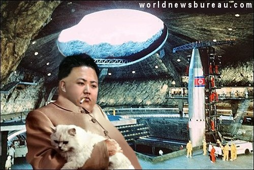 Kim Jong-Un in secret missile base