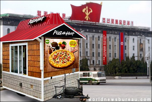 North Korean Fake Pizza Hut