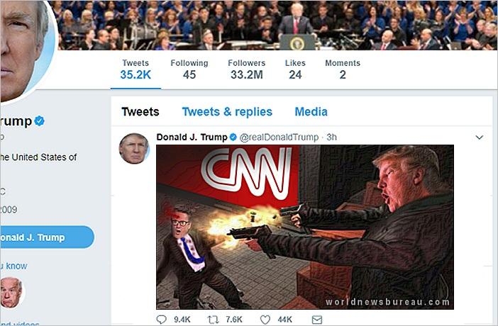 Trump Attacks CNN