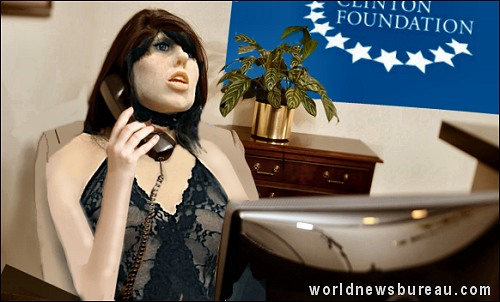 Clinton Foundation receptionist