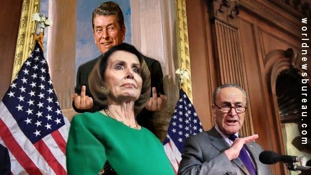 Pelosi & Schumer at White House