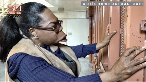 Oprah at prison