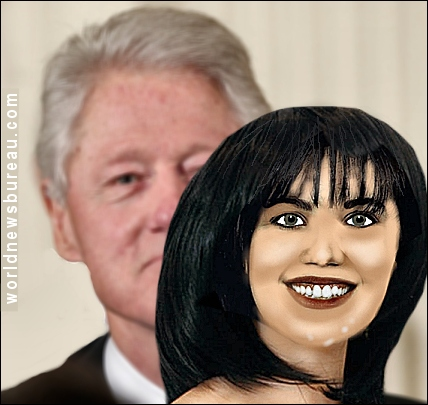 Bill Clinton and Doll