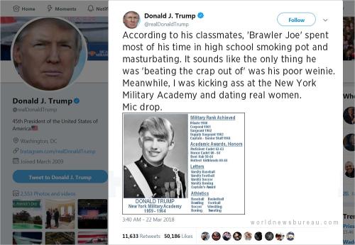 Trump Biden Tweet