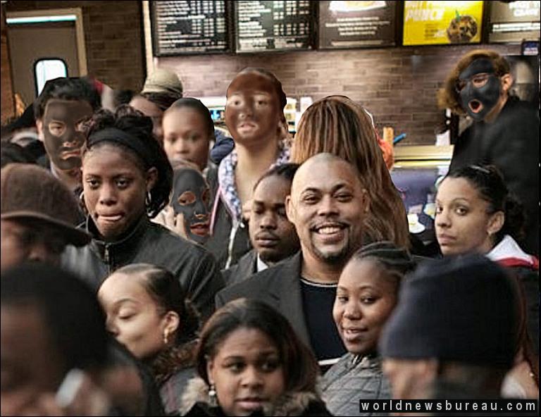 Blacks Hanging Out At Starbucks
