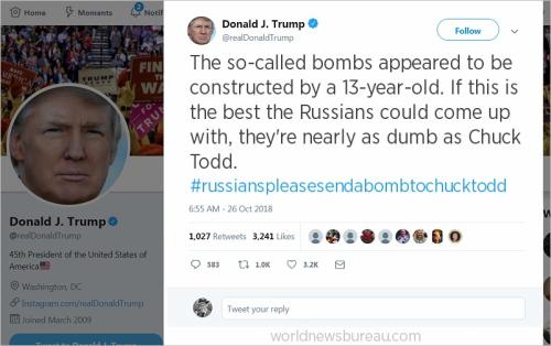Trump Chuck Todd Tweet