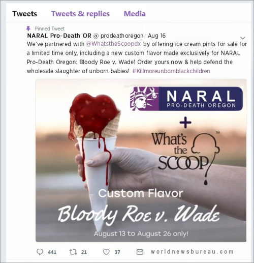 NARAL Ice Cream