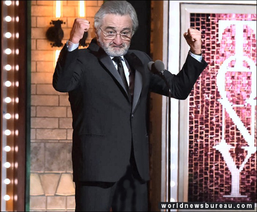 De Niro at Tonys