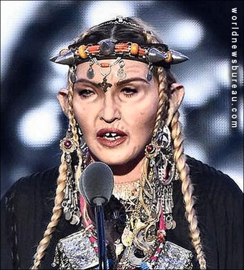 Madonna Tribute to Aretha Franklin