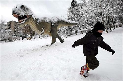 Russian dinosuar
