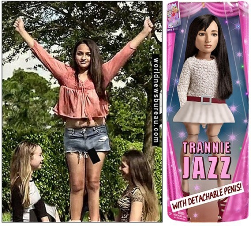 Jazz Jennings Doll