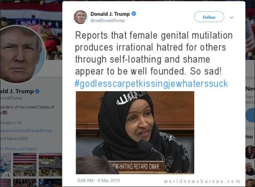 Trump Omar Tweet