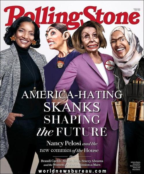 Rolling Stone Women Shaping Future