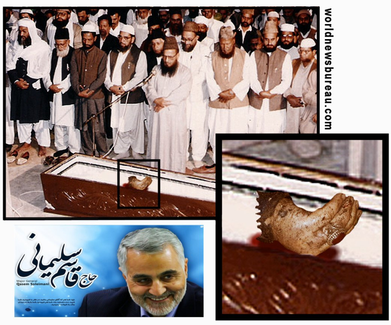 Soleimani casket