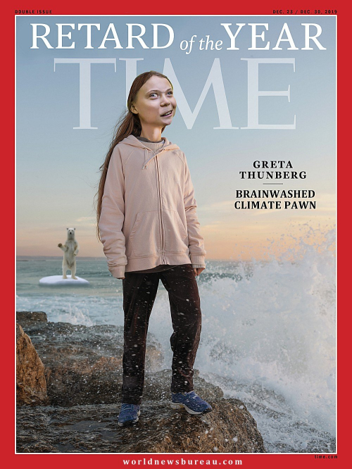 Greta Thunberg Time Person Of The Year