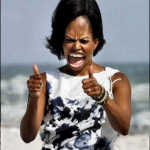 Michelle Obama in Florida