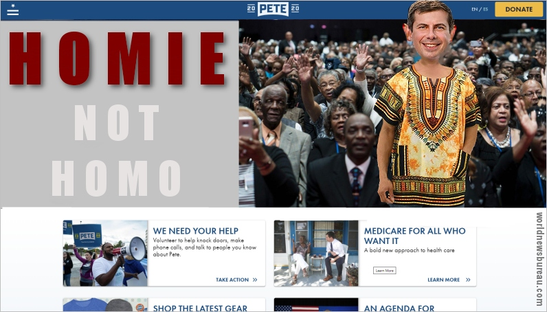 Buttigieg website