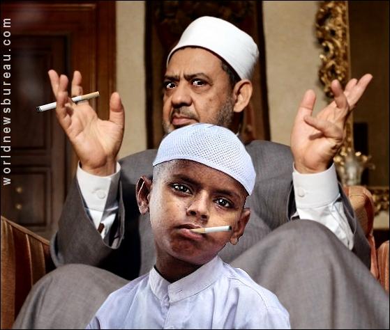 Muslim Boy Play
