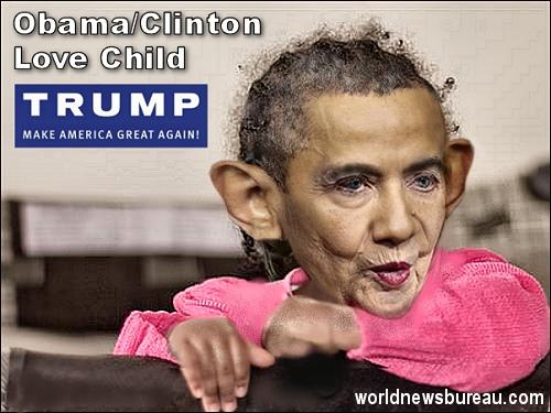 Obama-Clinton Love Child