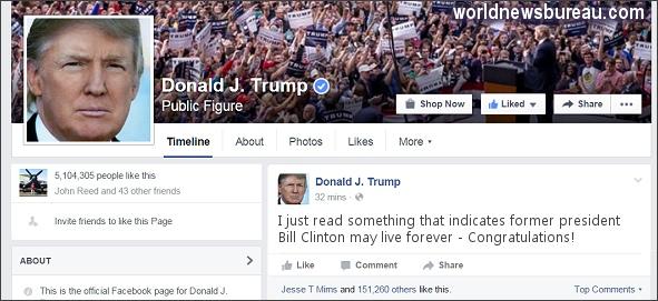 Trump Facebook Page